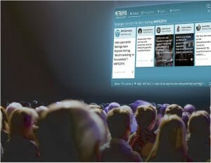 Die Revolution digitaler Eventanzeigen: Live Display [Neues Produkt]