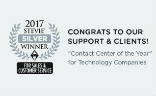 "Silver Stevie® Award - ""Contact Center of the Year"""