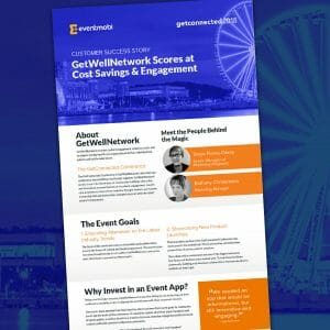 Case Study: GetWellNetwork Scores at Cost Savings & Attendee Engagement