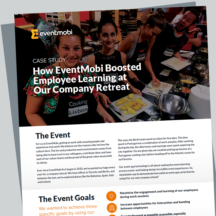 Case Study: How EventMobi Boosted Employee Learning at Our Company Retreat