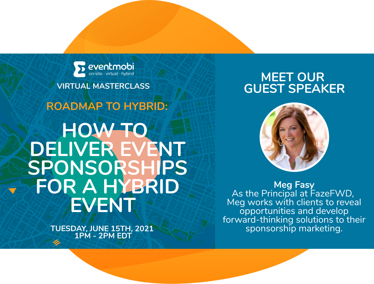 How to deliver event sponsorships for a hybrid event